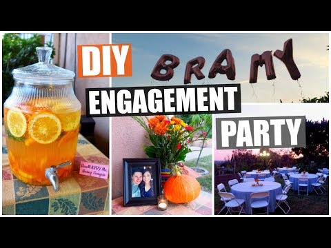 Engagement Party Planning, Prep + DIY Ideas!