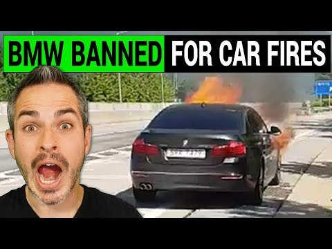 Is BMW Really Banned for Car Fires in Korea?