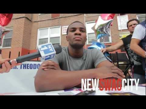 NEW SWAG CITY: Marcus Browne Press Conference in Staten Island