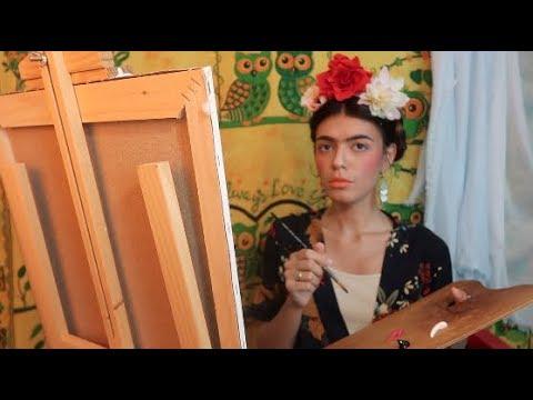 asmr- -frida-kahlo's-painting-session-🎨