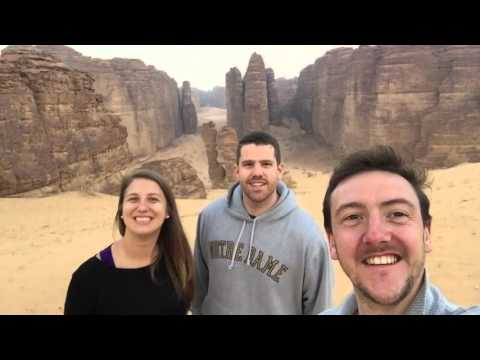 Trip to Madain Saleh, Saudi Arabia رحلة امريكيين إلى مدائن صالح في السعودية