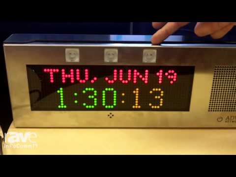 InfoComm 2014: Advanced Network Devices Presents IP Line of Speakers and Clocks