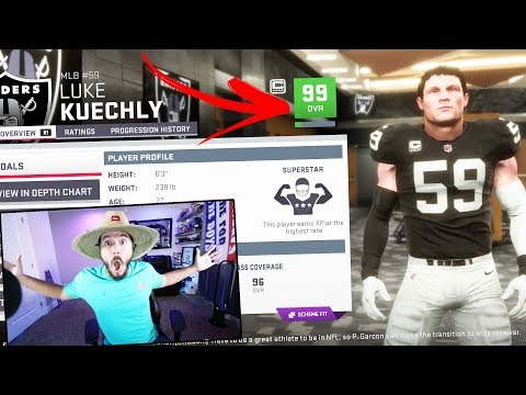 99 OVERALL!! I DRAFTED THE BEST TEAM  MADDEN 19