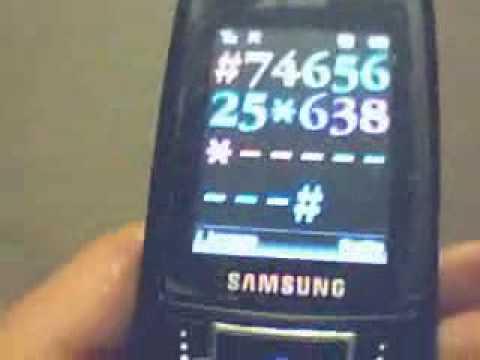Samsung D900 Unlock Mexico Telcel Codigo IMEI 2
