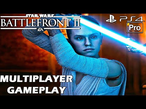 Star Wars Battlefront 2 - Multiplayer Gameplay Part 1 - LAUNCH DAY (PS4 PRO) Deluxe Edition