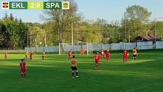Ekler Baranówka - Spartak Wielkanoc Gołcza 3:0   A Klasa S. 20/21