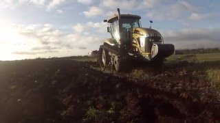 Cat Challenger Ploughing | Lincolnshire | M&J Harvesting