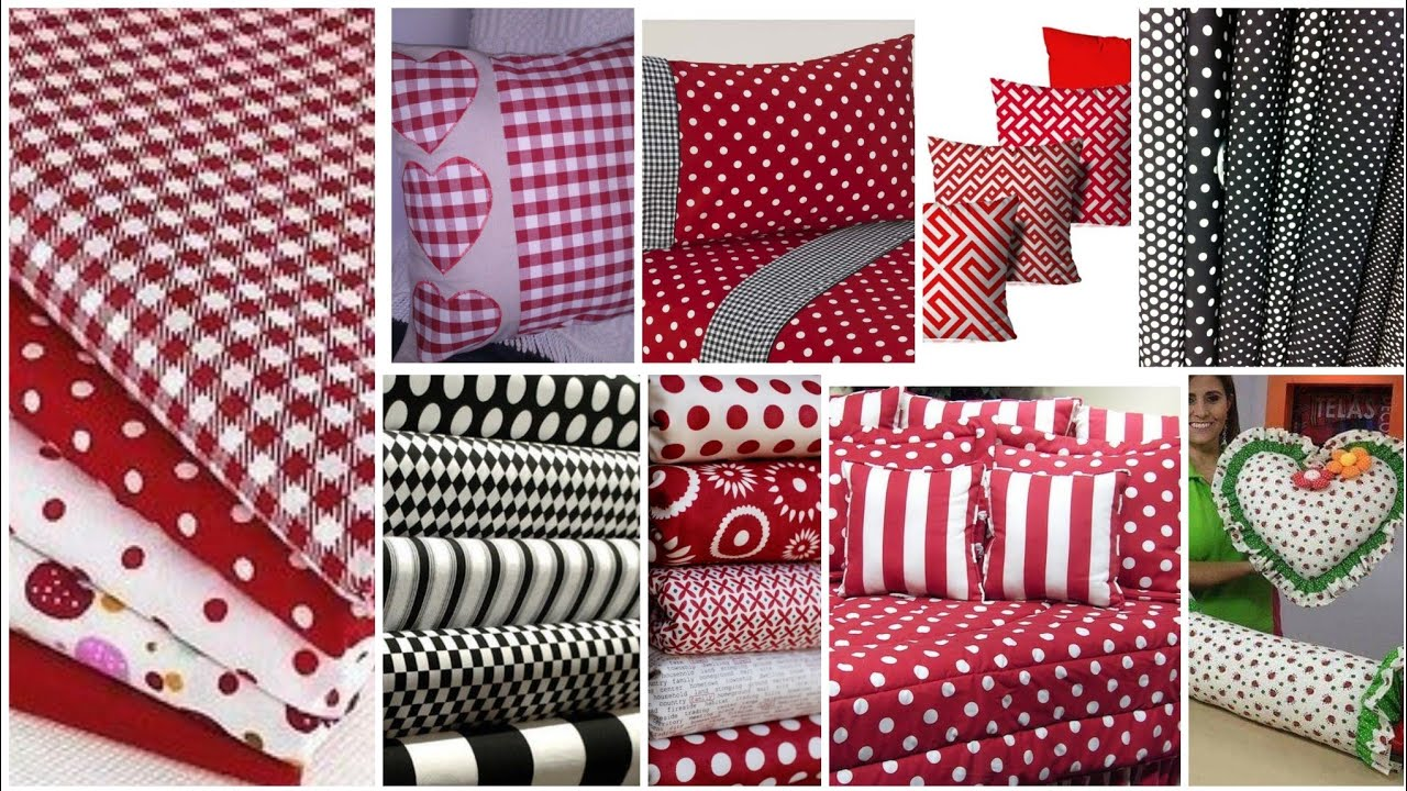 how to make bedsheet pillow cushion cover patchwork rilli work with cotton fabric idea by kushi
