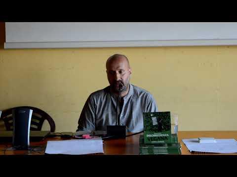 """Conferenza E Presentazione Libro """"Disobbedienza Vegana"""" Con Adriano Fragano"""
