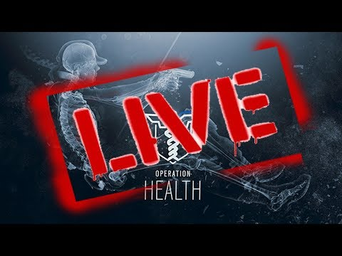 GRINDING FOR PLATINUM (RAINBOW SIX SIEGE OPERATION HEALTH) [LIVE]