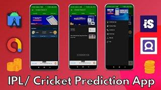 Cricket prediction app android studio | world cup 2021 prediction app