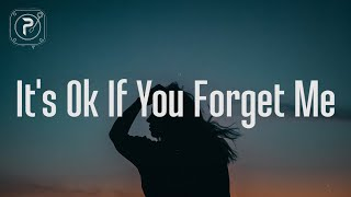 Astrid S - It's Ok If You Forget Me (Lyrics)
