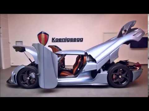 Koenigsegg Regera \u0027Show Mode\u0027 opens all doors at the same time & Koenigsegg Regera \u0027Show Mode\u0027 opens all doors at the same time - YouTube