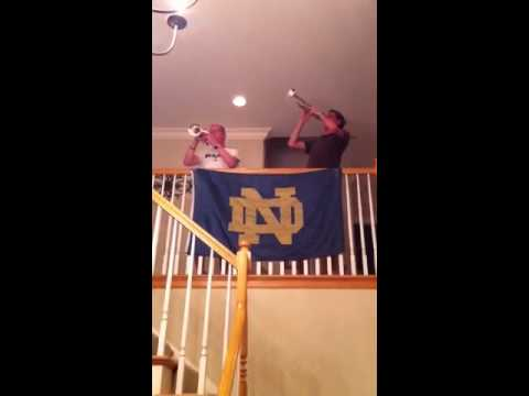 Notre Dame Trumpets at the Feeney's