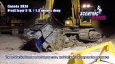 BTI Rock Breaker at Milton Quarry - YouTube