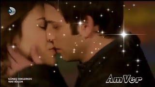 """MELIS ve AKSEL love story güneşi beklerken Мелис и Аксель """"В ожидании солнца"""" aşk hikayesi"""