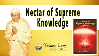 Nectar of Supreme Knowledge