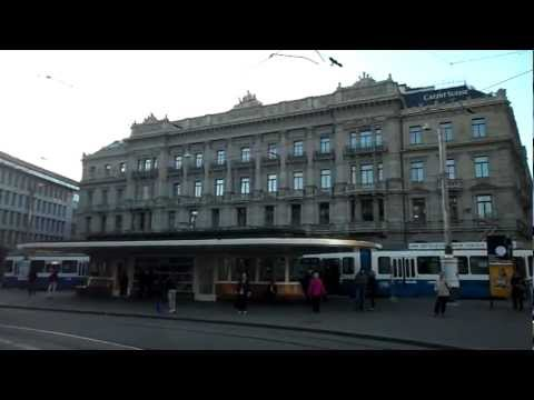 Zurich - Paradeplatz: Credit Suisse and UBS banks