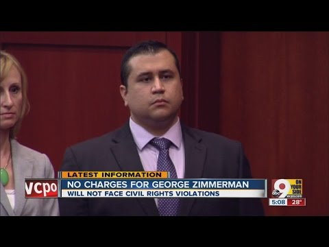No federal charges for George Zimmerman