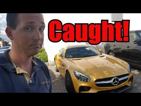 Caught My Customer Tracking my Rental Car!