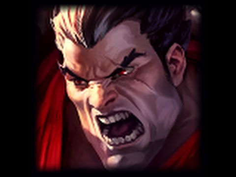 How to get first blood as Darius [ADVANCED]