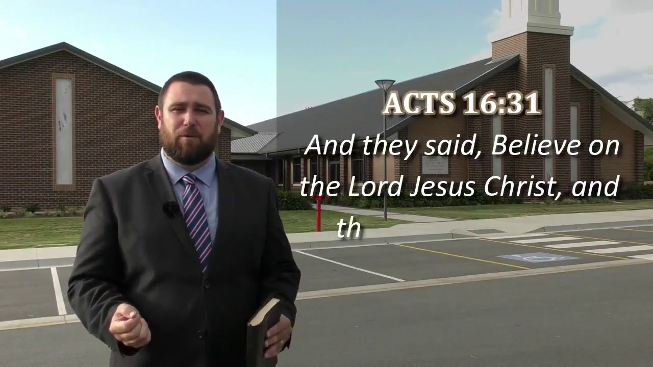 07c872870cd Gospel Presentation by Pastor Logan Robertson - YouTube