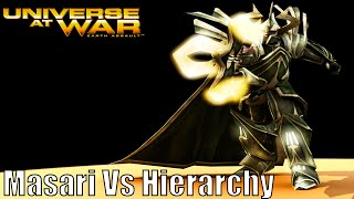 Universe at War: Earth Assault Skirmish Gameplay Masari Vs Hierarchy