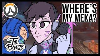 Where's my Mech? - An Overwatch Cartoon thumbnail