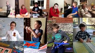 Артисты детского хора Большого театра поздравляют с Днем Победы!