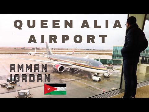 Queen Alia International Airport | Amman, Jordan | Airport Discovery & Plane Spotting