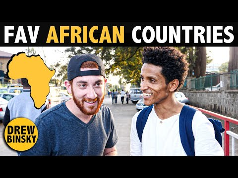 MY FAVORITE AFRICAN COUNTRIES! (top 5)