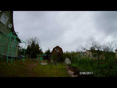 Timelapse Leningrad region Trubnikov Bor