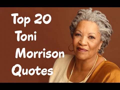 Toni Morrison Quotes On Education