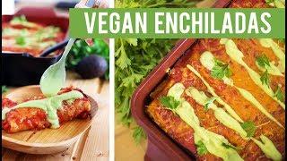 Protein Power Vegan Enchiladas | Vegan Mexican Recipe