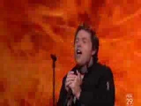 Michael Lee Johns- Light My Fire - American Idol Top 24 Guys