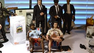 "12"" 1/6 CUSTOM Rainman PULP FICTION Figure ACCESSORIES! Flip Flops, Suitcase by ROBBIE JONES"
