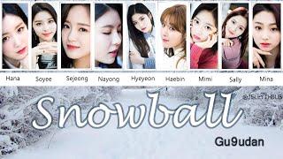 Gugudan(구구단) [THAISUB/KARAOKE] - Snowball #JELLYTHSUB
