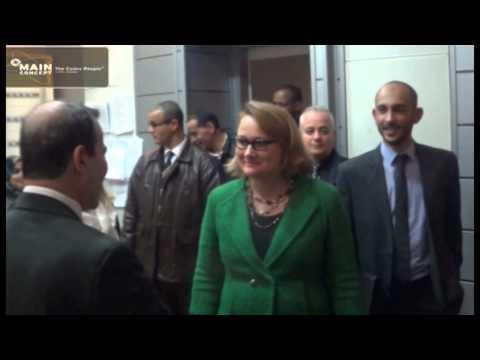 Visite, le 21-01- 2015 à la Radio, de M Joan A. Polaschik, ambassadrice des Etats Unis en Algérie
