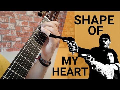 Shape of My Heart Gitar Dersi Tab Pdf Nasıl Çalınır | Sting & Dominic Miller