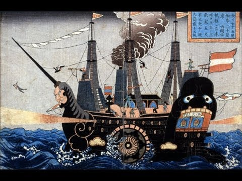 Japan Minute: The Black Ships 黒船