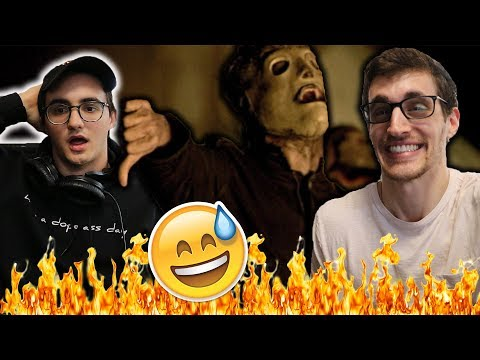 Converting My Friend into a Metalhead: Slipknot - PSYCHOSOCIAL Reaction!!