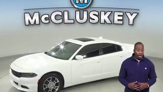 A98984TA Used 2015 Dodge Charger SXT AWD White Test Drive, Review, For Sale -