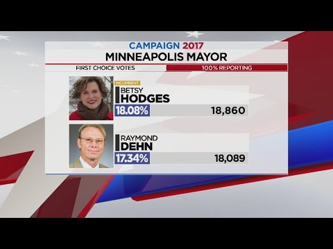 Frey Takes Early Lead For Minneapolis Mayor, History Made In St. Paul With Carter's Win