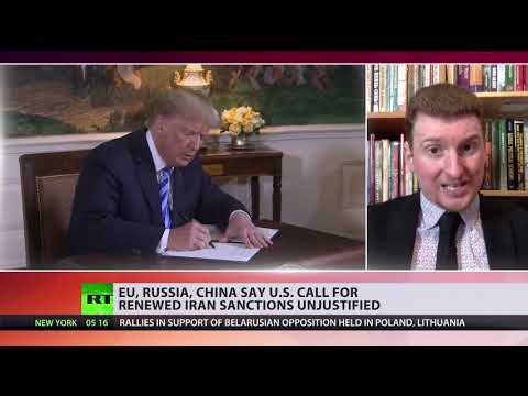 Hold it, Murica | US call for reimposition of Iran sanctions is unjustified – EU, Russia, China