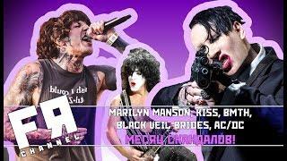 Marilyn Manson, KISS, ACDC, Bring Me The Horizon и др. Новости, релизы!