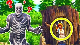 5000IQ Versteck im Todes Wald!IFortnite Hide and Seek!