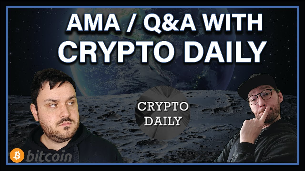 Interview with CRYPTO DAILY!! - AMA - Q&A