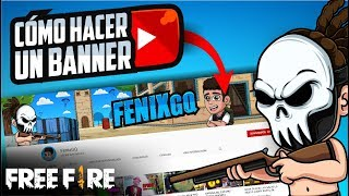 All our templates are made to perfectly fit youtube's banner requirements. Como Hacer Un Banner De Free Fire Para Youtube Facil Youtube