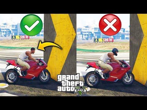 ¿Sirve Usar Casco de Moto en GTA 5, Realmente te Protege? Experimento