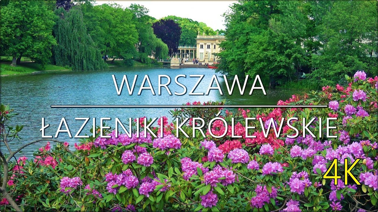 Warszawa łazienki Królewskie 4k